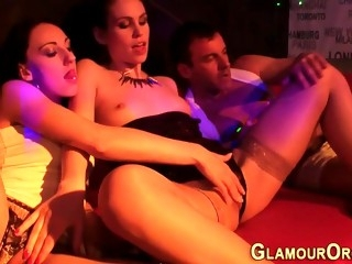Glamourous bitches sex party