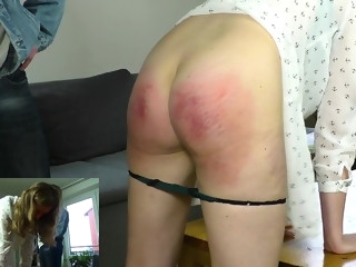 Clip 59P - My Little Sister Got Thrashing of Her Life - DS